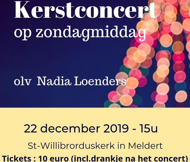 Kerstconcert ism Welima 22 december 2019 Meldert